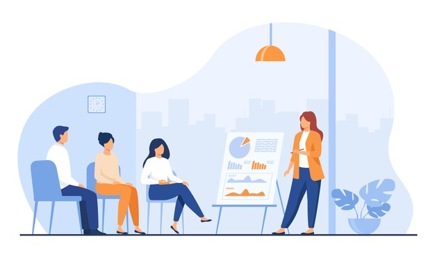 coach-speaking-before-audience-mentor-presenting-charts-reports-employees-meeting-business-training-seminar-conference-vector-illustration-presentation-lecture-education_74855-8294