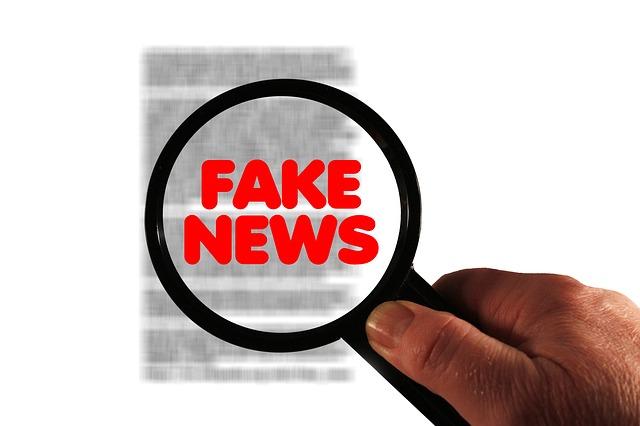 falešná zpráva