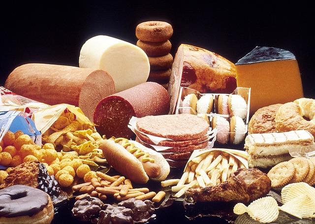 tukové potraviny